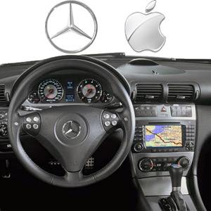 Setteb it per mercedes tutte le strade portano a cupertino for Mercedes benz cupertino