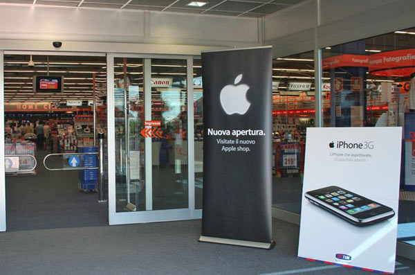 Setteb it l agosto degli apple shop marcianise e parma for Apple store campania