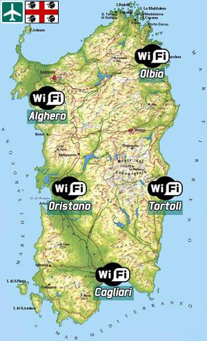 Cartina Sardegna Con Aeroporti.Porti Ed Aeroporti Sardi Coperti Dal Wi Fi Gratis Setteb It La Settimana Digitale Vista Dall Utente Mac